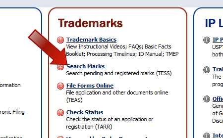 Get Access to a TradeMark Database and Avoid C&Ds