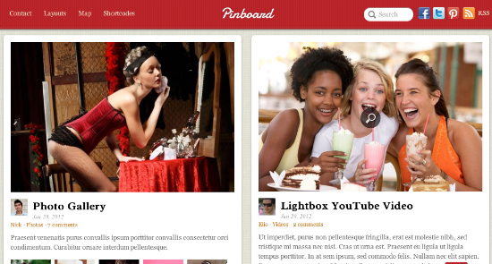 Pinterest WordPress Theme, Create Your Own Niche Pin Sites