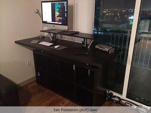 Ikea Standing Desk Hack - Increase Productivity