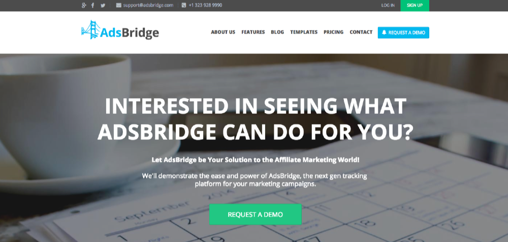 AdBridge Tracking Platform, a Full Scope of Features
