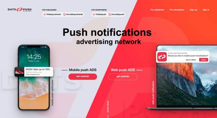 Image result for DatsPush Push Notifications Network